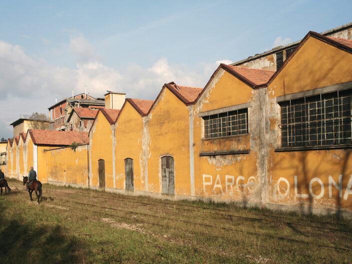 Cairate-ex cartiera - archeologia industriale - foto Claudio Argentiero