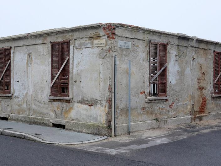 Fondo Claudio Argentiero Castellanza architettura in via Eugenio Cantoni 2015