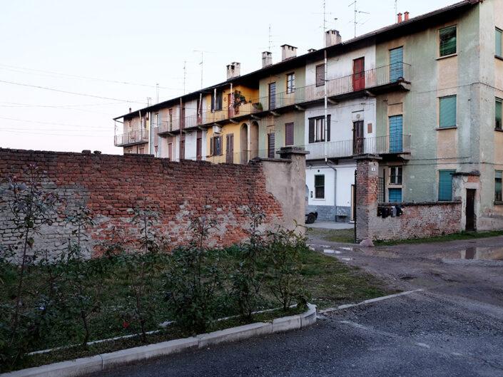 Fondo Claudio Argentiero Castellanza case popolari in rione Castegnate 2012