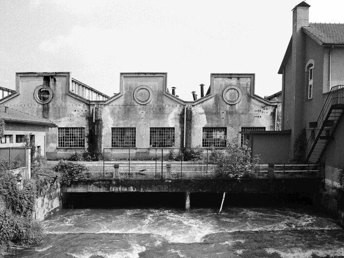 Fondo Claudio Argentiero Castellanza lungo il fiume Olona ex ditta Cantoni 1995