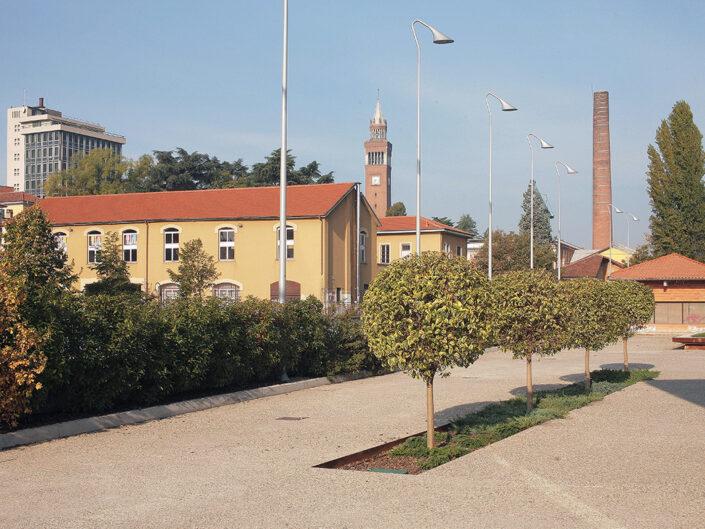 Fondo Claudio Argentiero Castellanza piazza Castegnate paesaggio 2016