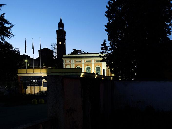 Fondo Claudio Argentiero Castellanza veduta da piazza Soldini 2015