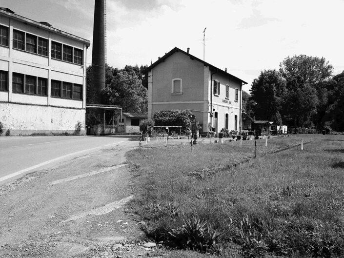Fondo Claudio Argentiero Castiglione Olona ex stazioncina Valmorea 1997