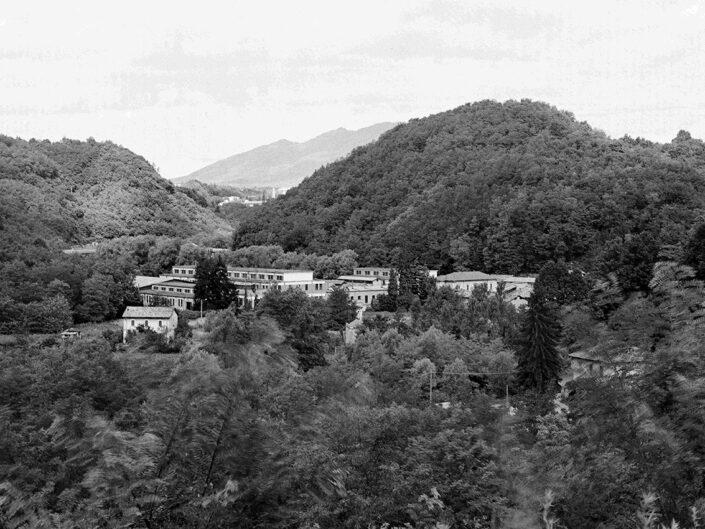 Fondo Claudio Argentiero Malnate paesaggio sulla valle 1996