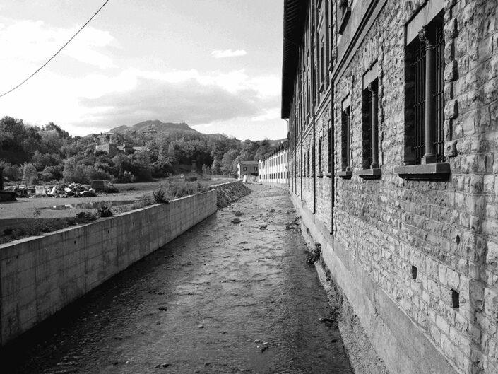 Fondo Claudio Argentiero Varese fiume Olona 1997