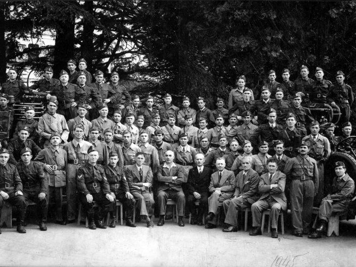 Fondo Giagiacomo Salsa Castellanza Cotonificio Cantoni Pompieri fabbrica Castellanza Legnano 1945 scaled