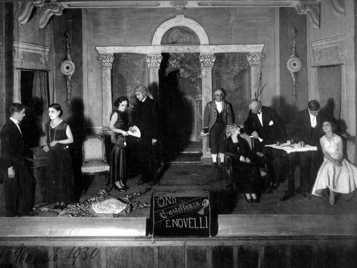 Fondo Giangiacomo Salsa Castellanza scene di teatro Filodrammatica Ermete Novelli 1945 1950 1 scaled