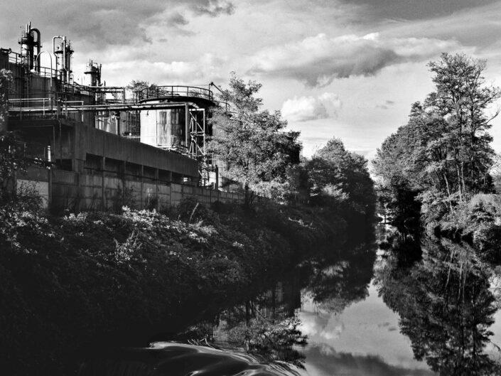Fondo Roberto Bosio Gorla MinorePaesaggio sul fiume Olona 1997 scaled