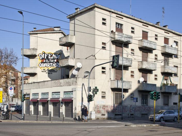 Fondo Roberto Venegoni Milano Piazza Tirana Giambellino 2018