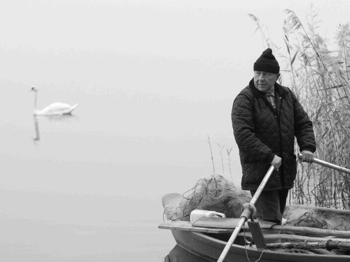 Giorgetti Natale pescatore lago di Varese scaled