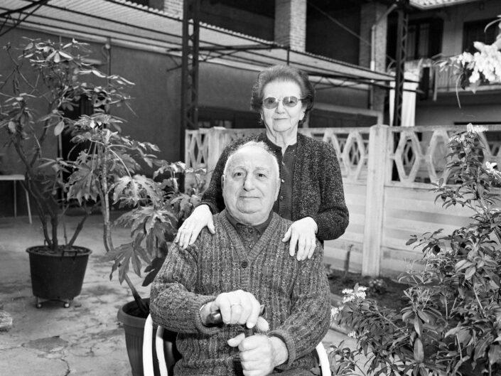 Partigiano Tosi Donato con la moglie di Castellanza classe 1917 scaled