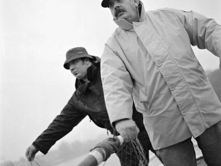 Zamperini Aldo e Fabio pescatori lago Maggiore scaled