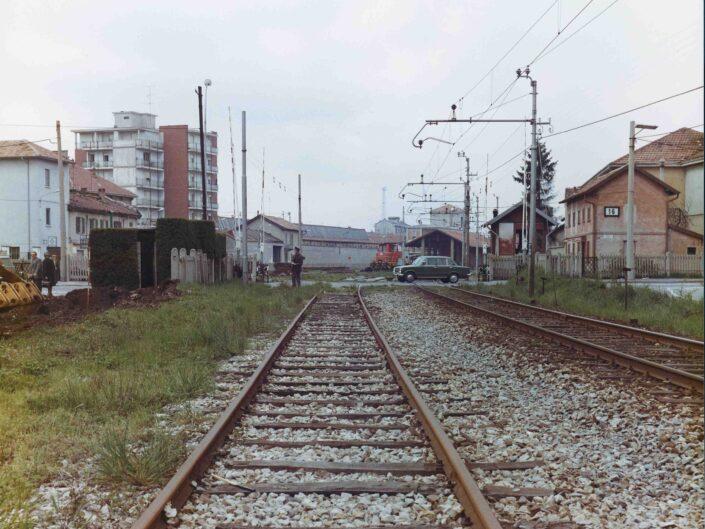 Fondo Archivio Storico Castellanza la ferrovia da via Piave Copia scaled