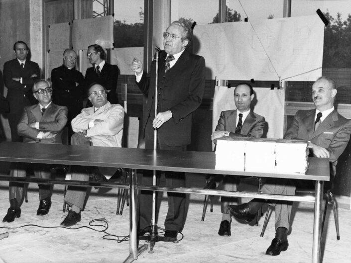 Fondo Archivio Storixo Castellanza Inaugurazione nuove Scuole elementari scaled