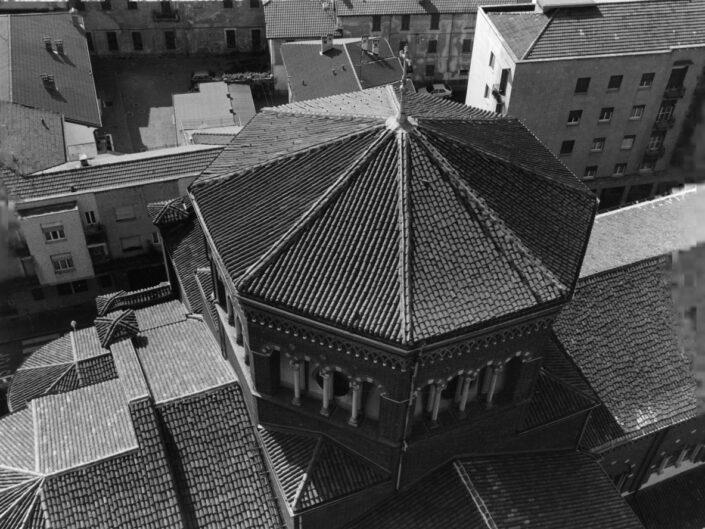 Fondo Claudio Argentiero Castellanza veduta dal campanile della chiesa di San Giulio1997