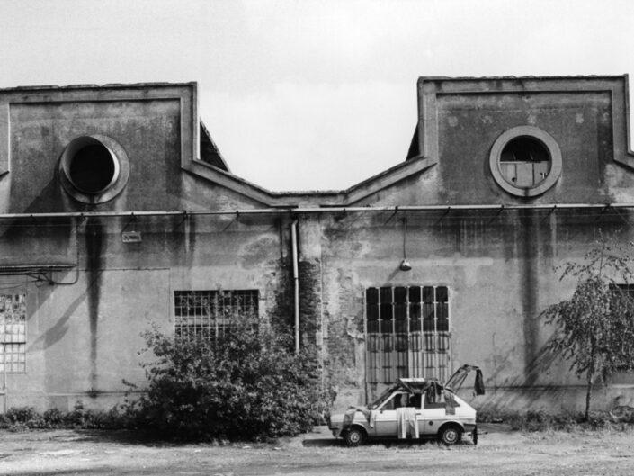 Fondo Claudio Argentiero Edifici di Archeologia Industriale ex ditta Cantoni da via Don G.Bettinelli 1995 2 e1612314335469