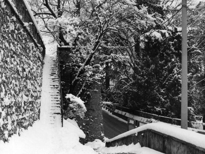 Fondo Claudio Argentiero scalinata da via Matteotti 1996