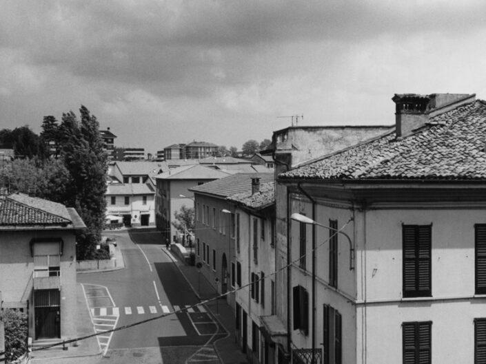 Fondo Claudio Argentiero veduta da corso G.Matteotti su Piazza Soldini 1997