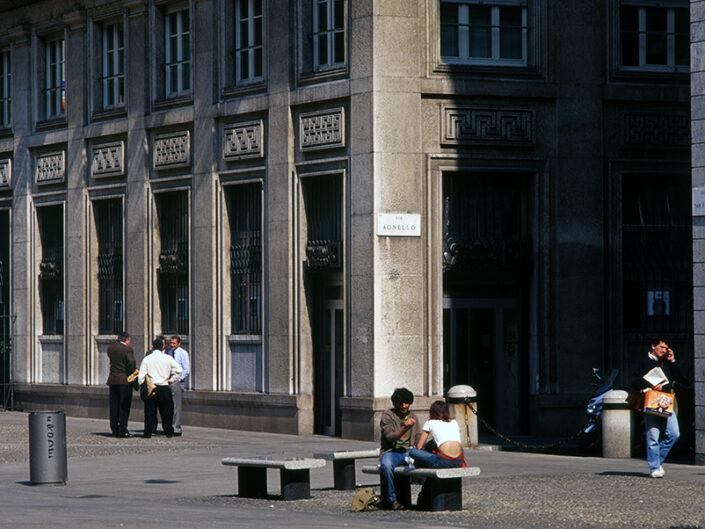 Fondo Franco Pontiggia Milano San Fedele 1986