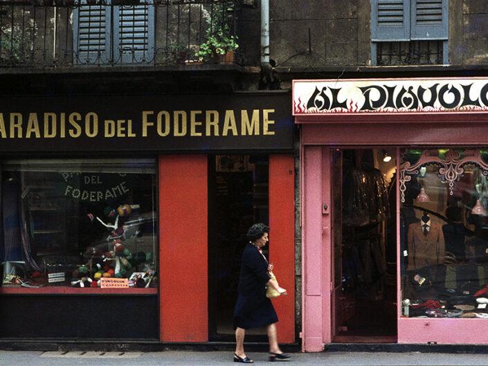 Fondo Franco Pontiggia Milano corso San Gottardi9 1985