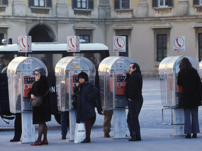Fondo Franco Pontiggia Milano piazza del Duomo 1988 3