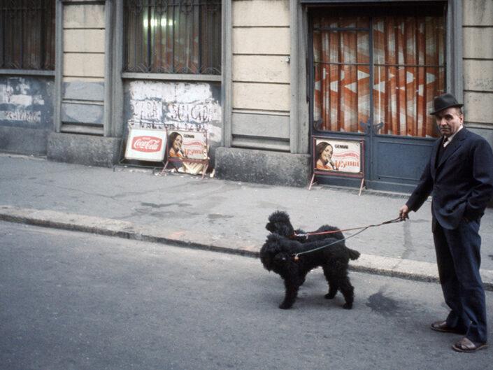 Fondo Franco Pontiggia Milano tra le vie del centro 1985