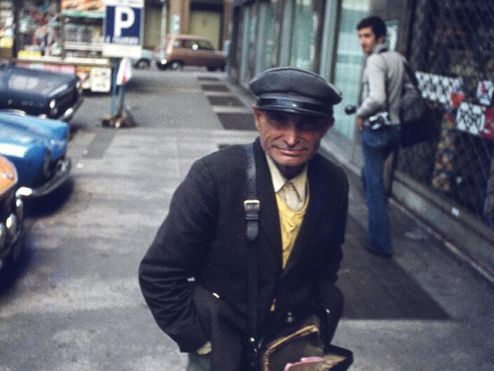Fondo Franco Pontiggia Milano via Hoepli 1985