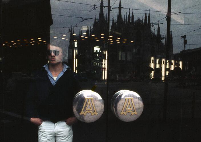 Fondo Franco Pontiggia Milano via Torino 1986
