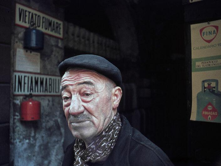 Fondo Franco Pontiggia Milano volti 1985