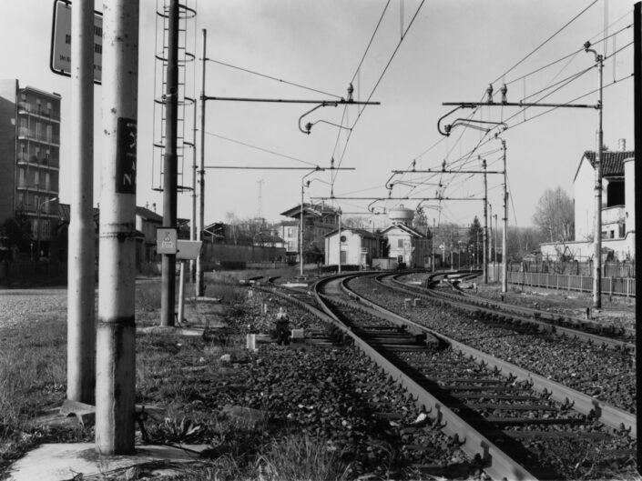 Fondo Roberto Bosio Castellanza Stazione Ferroviaria Nord vista da Corso Matteotti 1996