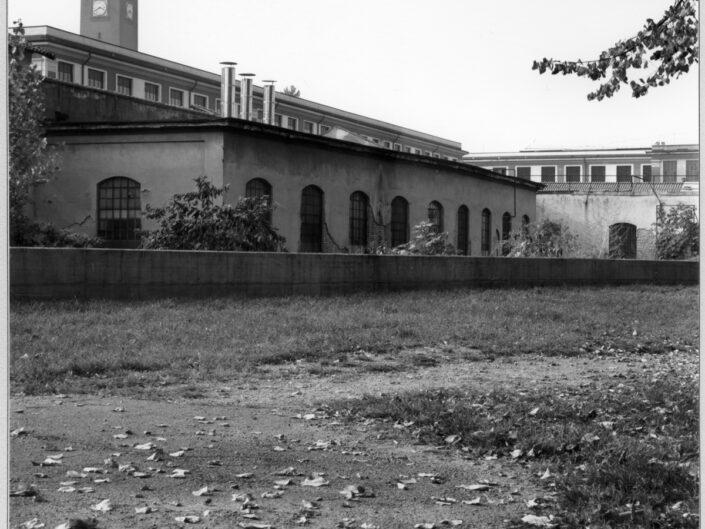 Fondo Roberto Bosio Castellanza Veduta da Piazza Castegnate 1997