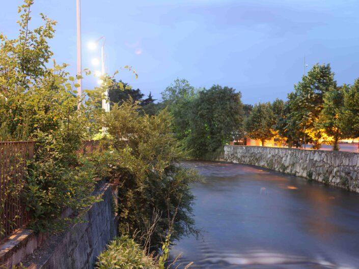 Fondo Roberto Bosio Castellanza Veduta del fiume Olona da Piazza Castegnate Maggio 2014 scaled
