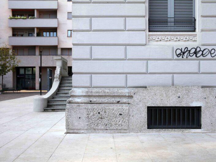 Fondo Roberto Bosio Milano Piazza Enrico Berlinguer Novembre 2018 scaled