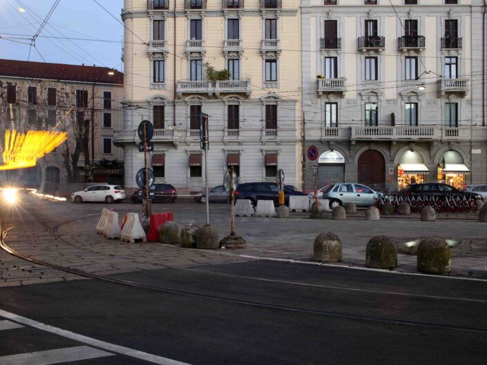 Fondo Roberto Bosio Milano Piazzale di Porta Genova Dicembre 2018 scaled
