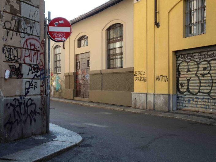 Fondo Roberto Bosio Milano Via Mortara Giugno 2018 scaled