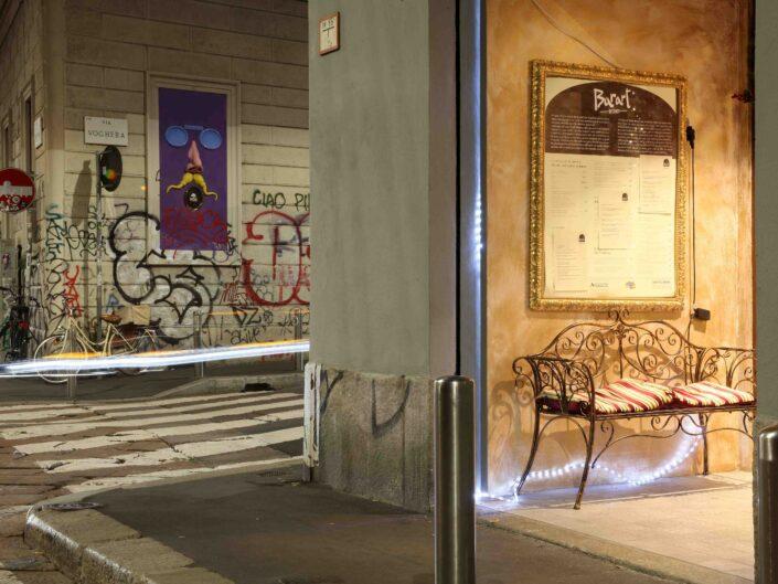 Fondo Roberto Bosio Milano via Tortona su via Voghera 2018 scaled
