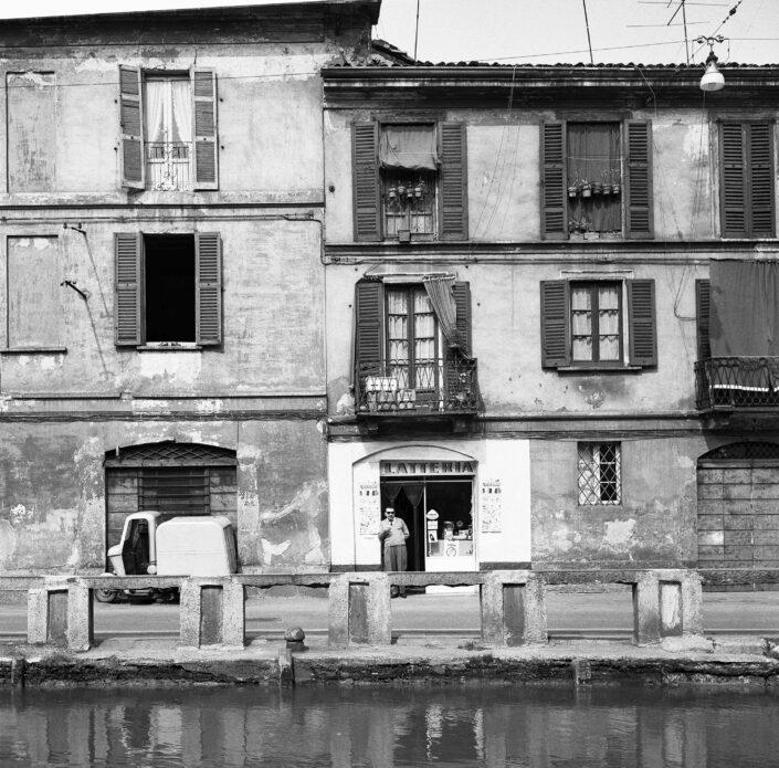 Fondo Virgilio Carnisio Milano Alzaia Naviglio Grande 1967