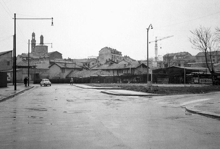Fondo Virgilio Carnisio Milano piazza Arcole 1968