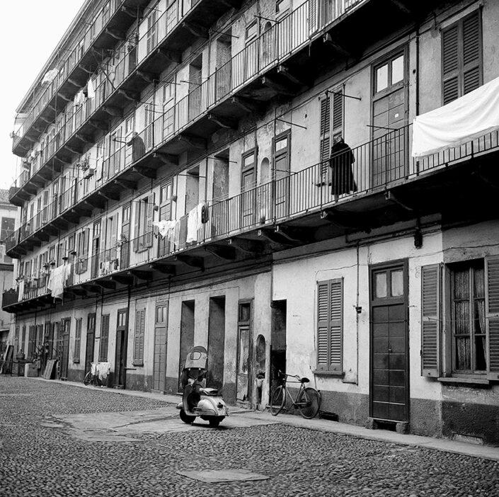 Fondo Virgilio Carnisio Milano via Borsieri 14 1969