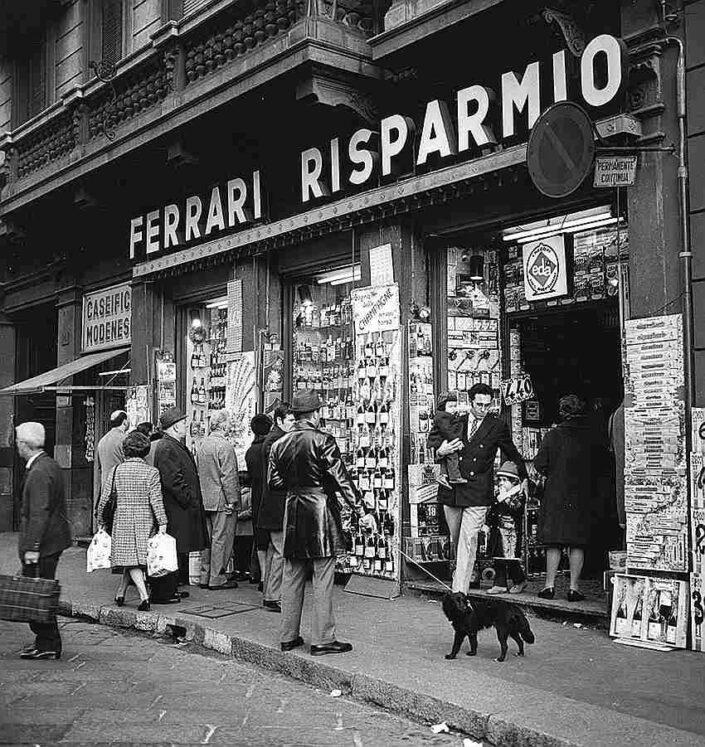 Fondo Virgilio Carnisio Milano via Ponte Vetero 14 1974