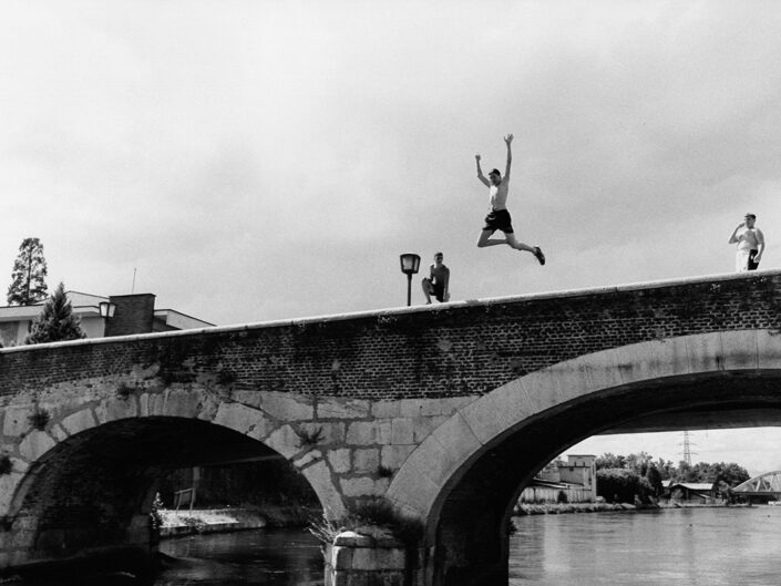 Fondo Giovanni Mereghetti - Turbigo - Ponte sul Naviglio Grande - 1991