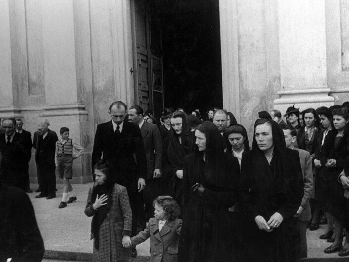 Fondo Imelda Bertelli - Olgiate Olona - Funerale - anni '60