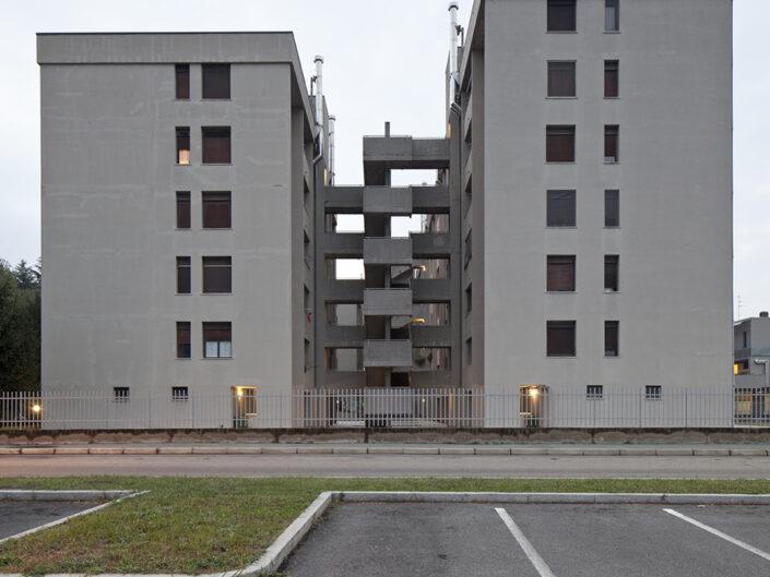 Fondo Roberto Venegoni - Legnano - Palazzi quartiere Mazzafame - 2016