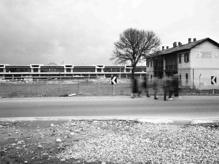 Fondo Afi - Vizzola Ticino - Ex case Caproni nei pressi di Malpensa - Foto Claudio Argentiero - Aprile 1998