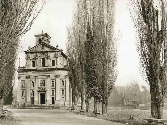 Fondo Afi - Somma Lombardo - Frazione Mezzana - Santuario della Madonna della Ghianda (1582-1639) - Foto Claudio Argentiero - 1990