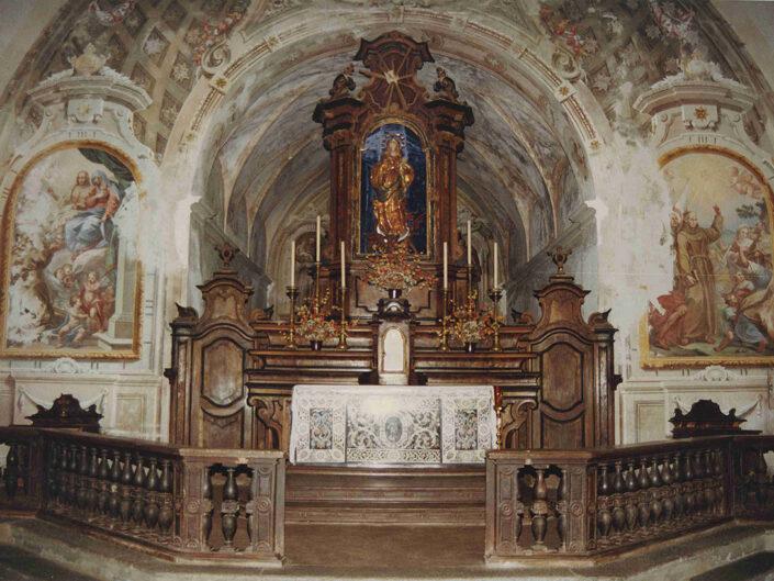 Fondo Afi - Azzio - Monastero Francescano (1608) - Foto Franco Rinaldin - 1991