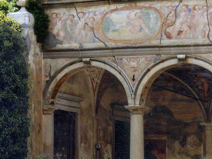 Fondo Afi - Bisuschio - Villa Cicogna Mozzoni (Sec. XVI) - Foto Roberto Bosio - 1991