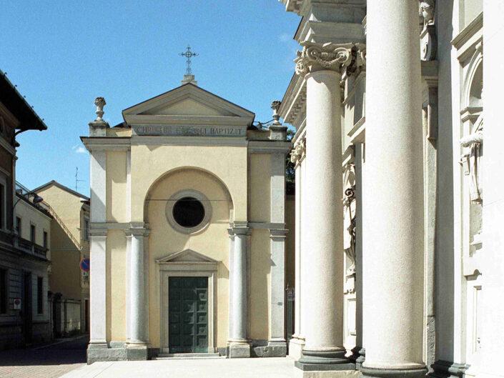 Fondo Afi - Busto Arsizio - Basilica di San Giovanni Battista e Battistero - Foto Claudio Argentiero - 2001