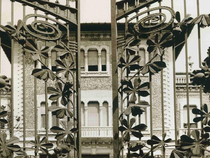 Fondo Afi - Busto Arsizio - Villa Ottolini Tovaglieri (1903) - Foto Claudio Argentiero - 1993