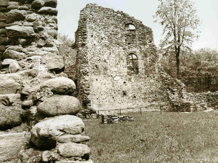 Fondo Afi - Castelseprio - Area archeologica - Castrum - Foto Claudio Argentiero - 1994